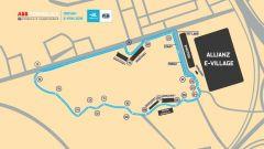 Formula E, il circuito di Riad (Arabia Saudita)