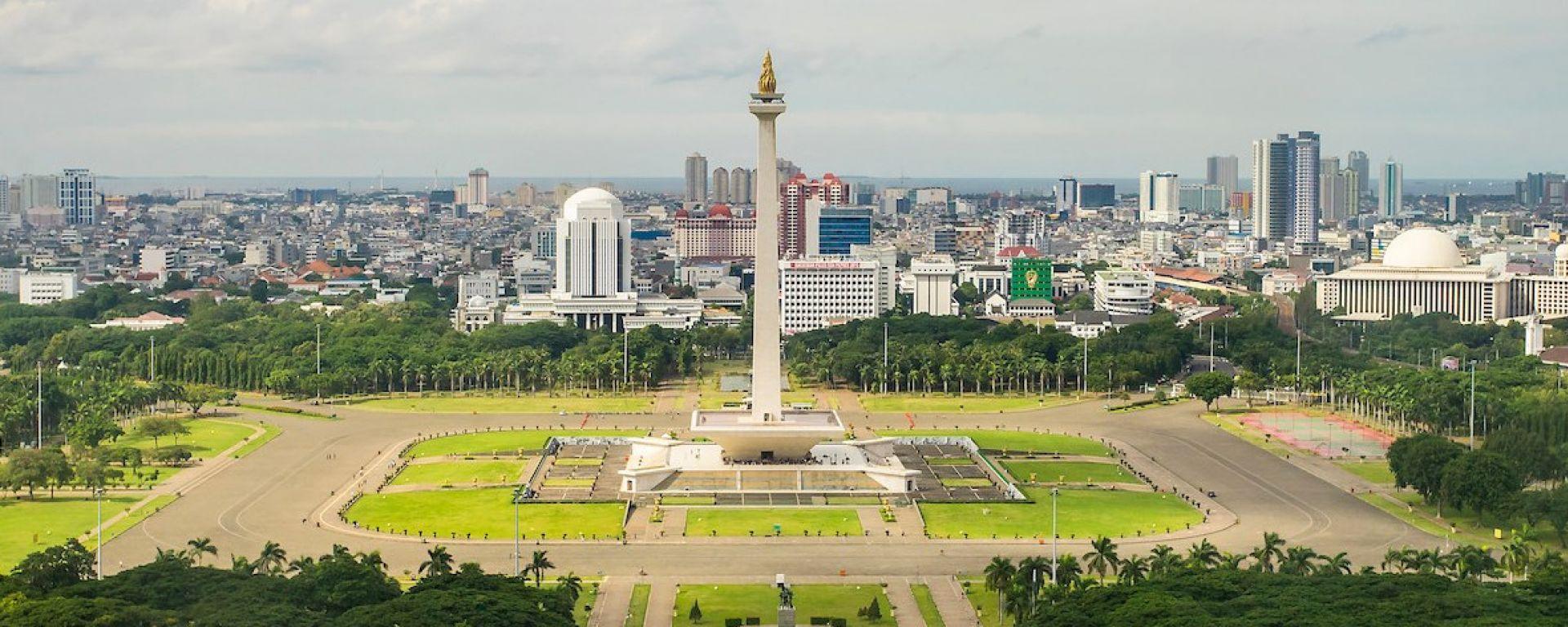 Formula E, il Monas di Merdeka Square dove sarà allestito il circuito dell'ePrix di Jakarta 2020