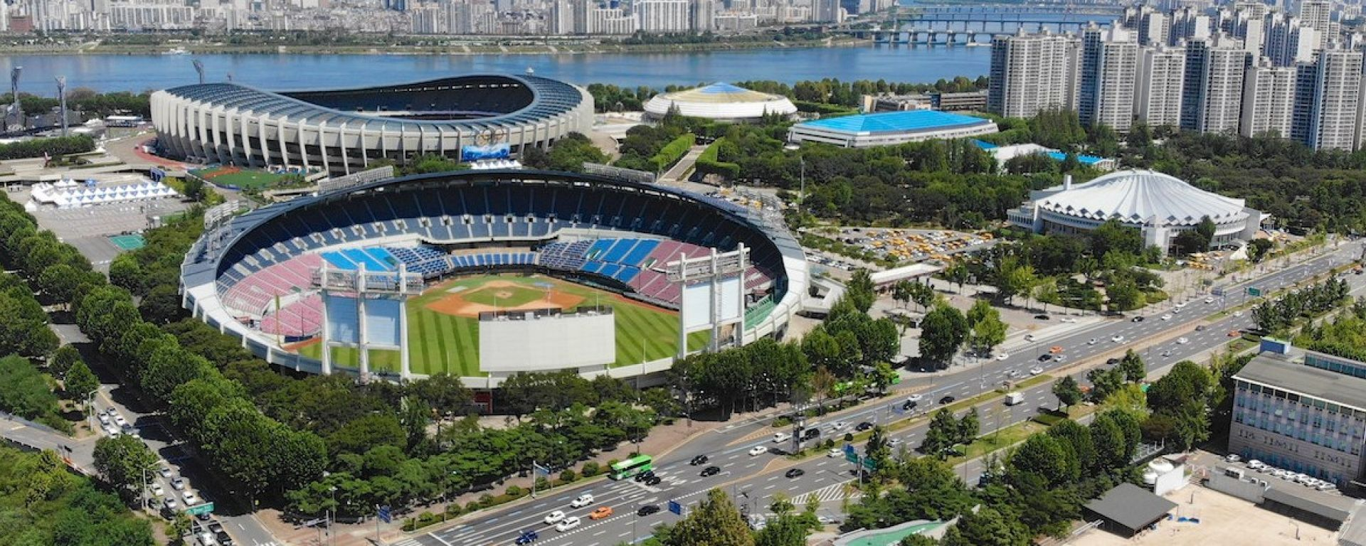 Formula E, il Parco Olimpico di Seul dove nel 2020 si svolgerà il primo ePrix della Corea del Sud