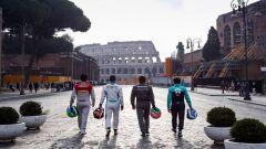 Formula E, immagini della presentazione del primo ePrix a Roma