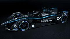 Formula E: la Mercedes Silver Arrow 01 diventa nera contro il razzismo | Foto 2/3