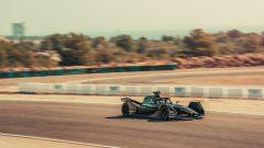 Formula E, la Porsche impegnata nei test al Circuito Calafat