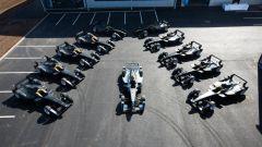 Formula E: le SRT-01E che hanno corso nei primi 4 anni del campionato