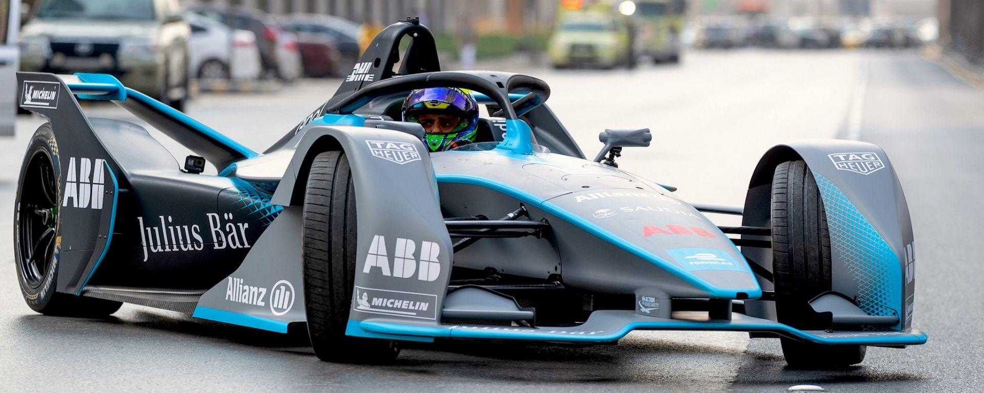 Formula E: Massa alla guida della F-E in Arabia Saudita