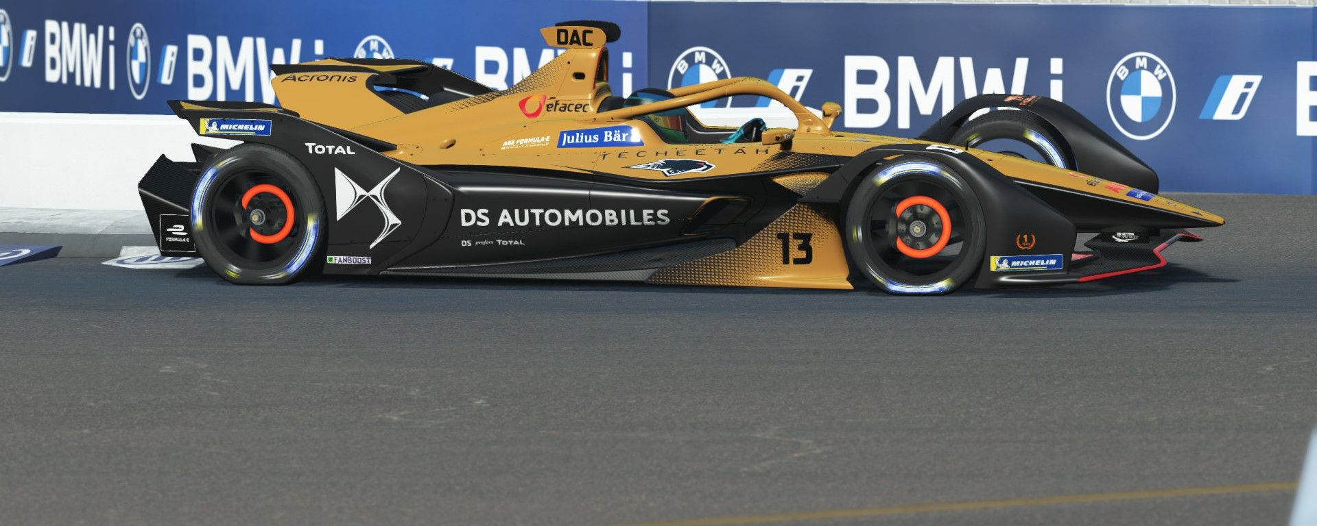 Formula E Race at Home Challenge 2020: Antonio Felix Da Costa (DS Techeetah)