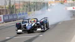 Formula E rookie test Marrakech 2020: Sergio Sette Camara (Geox Dragon) in pista