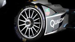 Formula E SRT-01E: dettaglio della ruota posteriore