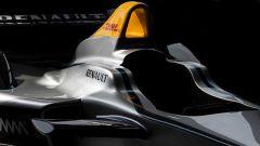 Formula E SRT-01E: vista dell'abitacolo
