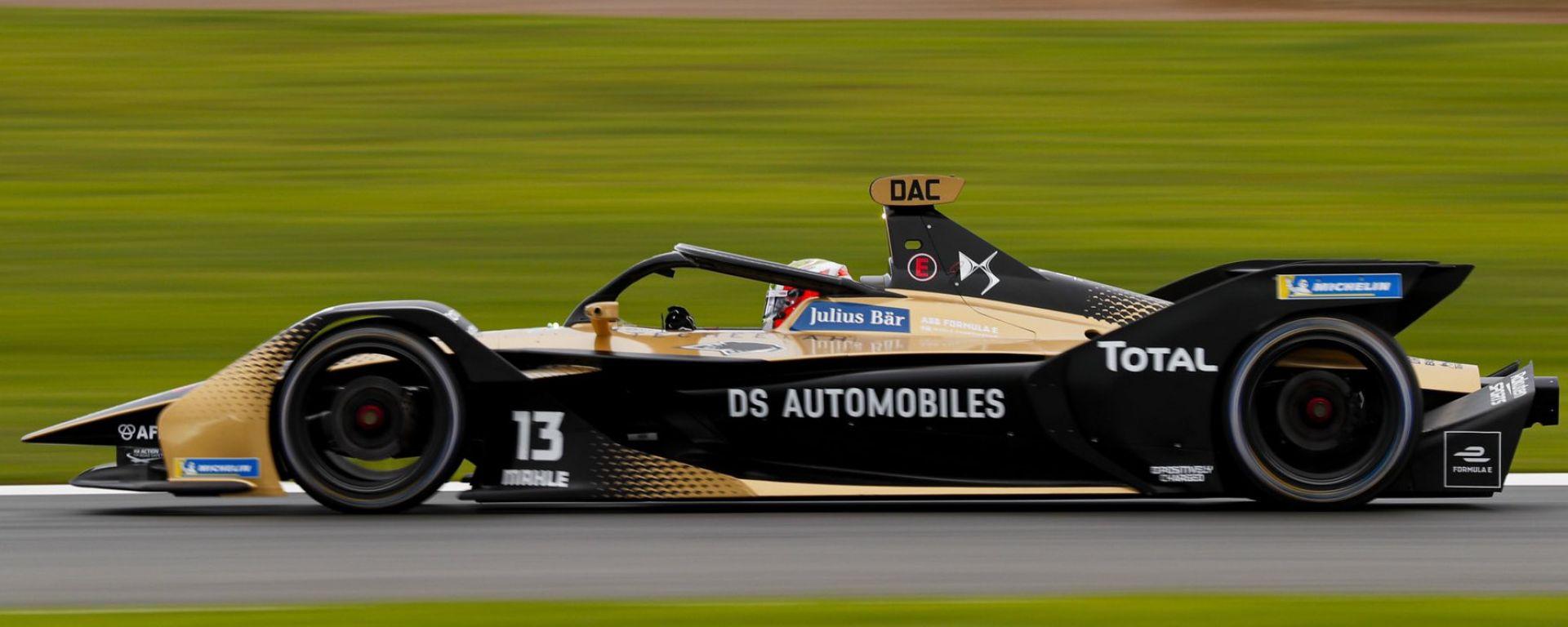 Formula E, Test Valencia 2020, Felix Da Costa (DS E-Tense)