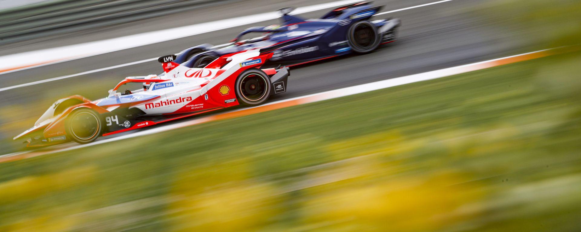 Formula E, Test Valencia 2021: Alexander Lynn (Mahindra)