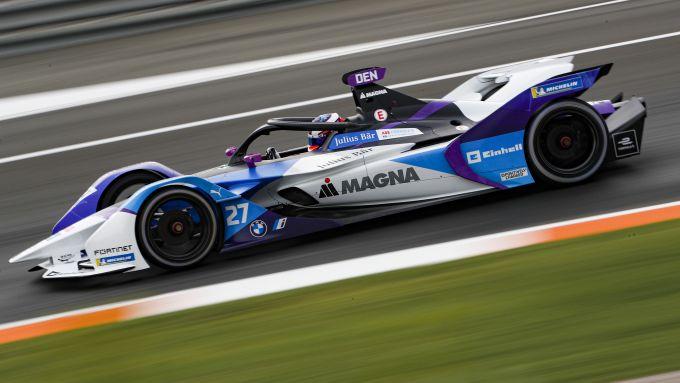 Formula E, Test Valencia 2021: Jake Dennis (Bmw)