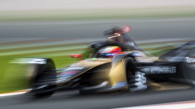 Formula E, Test Valencia 2021: Jean-Eric Vergne (DS Techeetah)