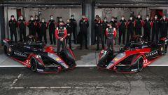 Formula E, Test Valencia 2021: la presentazione del team Nissan e.Dams