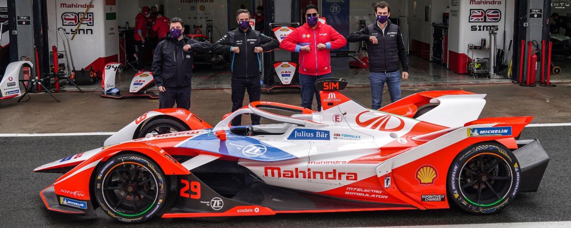 Formula E Test Valencia 2021: l'annuncio Mahindra Racing in pit-lane