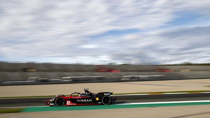Formula E, Test Valencia 2021: Sebastien Buemi (Nissan e.Dams)