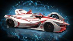Formula E, una monoposto Gen2 virtuale con i colori Brembo