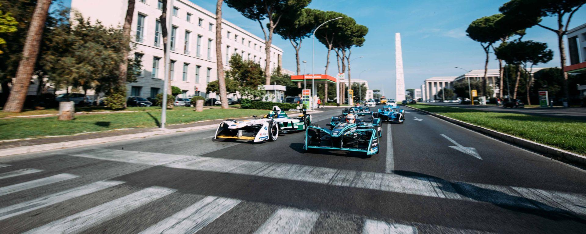 Formula E, viabilità ePrix Roma. Ecco come raggiungere l'Eur