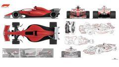 La Formula 1 che verrà, uno sguardo ai concept per il 2021 - Immagine: 3