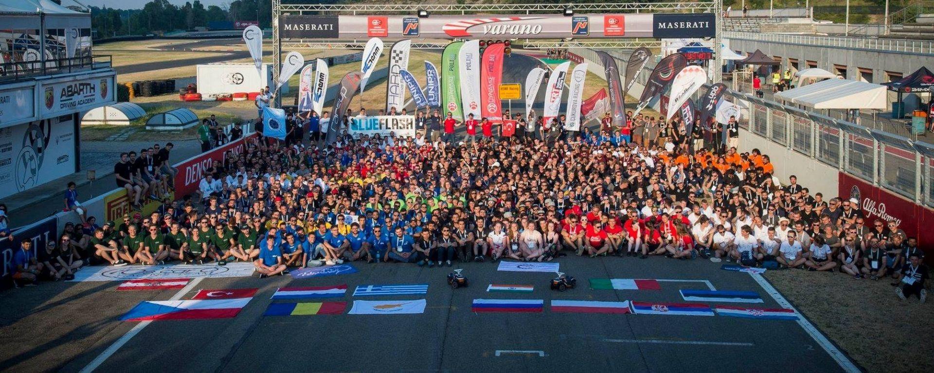 Formula SAE Italy 2018, foto di gruppo
