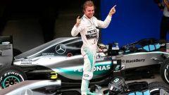 Formula Uno - Nico Rosberg e la sua Mercedes