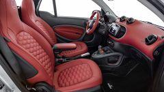 ForTwo Cabrio Brabus Edition #2: gli interni