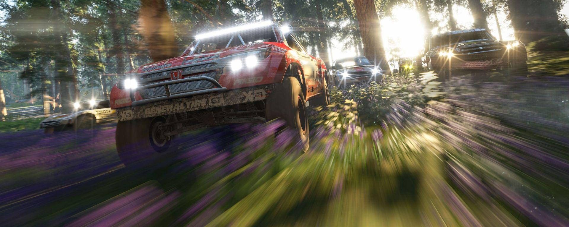 Forza Horizon 4: un'immagine di gioco