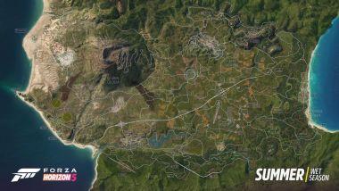 Forza Horizon 5: uno screenshot del gioco di corse Microsoft