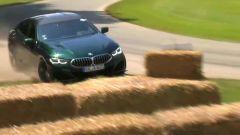FOS 2021 BMW Alpina B8 Gran Coupe si schianta a Goodwood