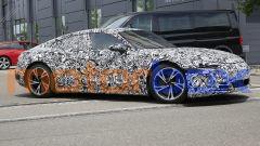 Foto spia di Audi e-tron GT: il prototipo fotografato in Germania