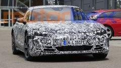 Foto spia di Audi e-tron GT: visuale anteriore