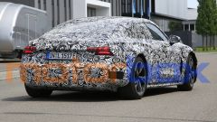 Foto spia di Audi e-tron GT: visuale posteriore