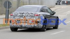 Foto spia di Mercedes EQS: visuale posteriore