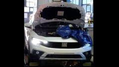Foto spia: è questo il frontale della nuova Fiat Tipo Cross?