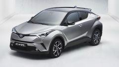 Prime foto ufficiali di Toyota C-HR, presto al Salone di Ginevra - Immagine: 1