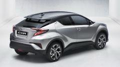Prime foto ufficiali di Toyota C-HR, presto al Salone di Ginevra - Immagine: 4