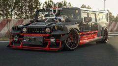 Fotogallery: Drift Hummer H1, una bestia in pista