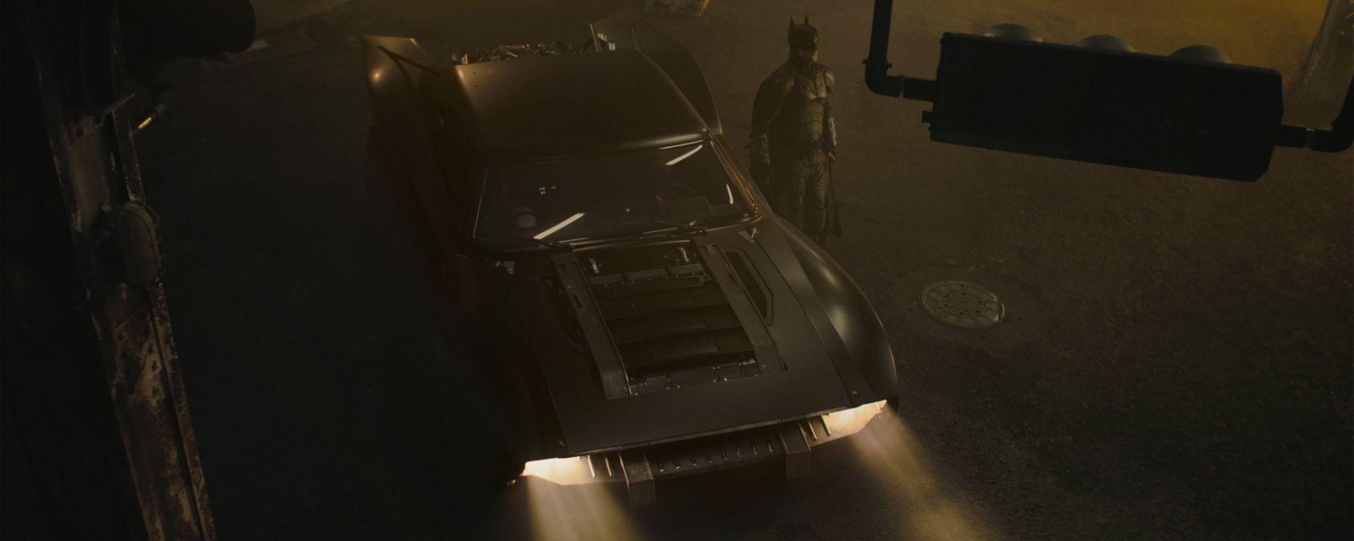 Fotogallery: la Batmobile del nuovo Batman con Robert Pattinson