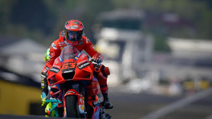 Francesco Bagnaia (Ducati) a Le Mans 2021