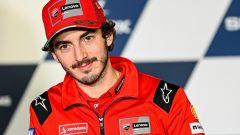 Francesco Bagnaia (Ducati) in conferenza stampa