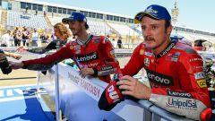 Francesco Bagnaia e Jack Miller (Ducati) a Le Mans