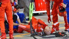 Francesco Cigarini - il meccanico investito da Raikkonen nel GP del Bahrain
