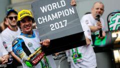 Franco Morbidelli Campione del Mondo 2017