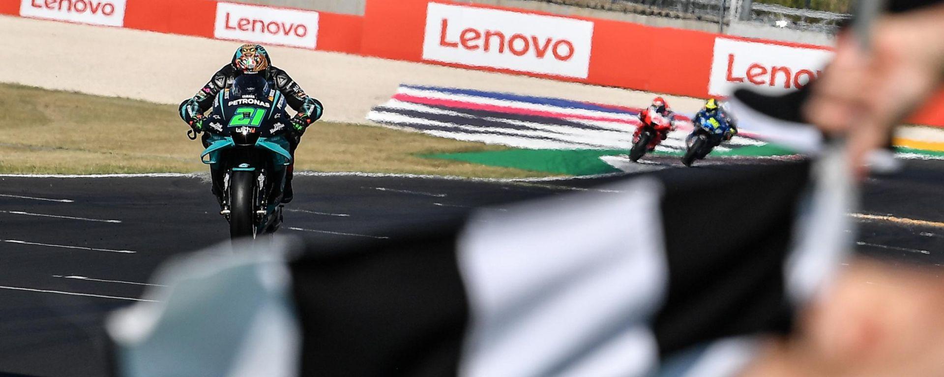 Franco Morbidelli vince il GP di San Marino e della Riviera di Rimin 2020 a Misano!