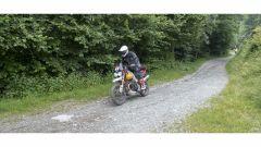 Franco Picco con la Moto Guzzi V85 TT all'Alps TT 2020