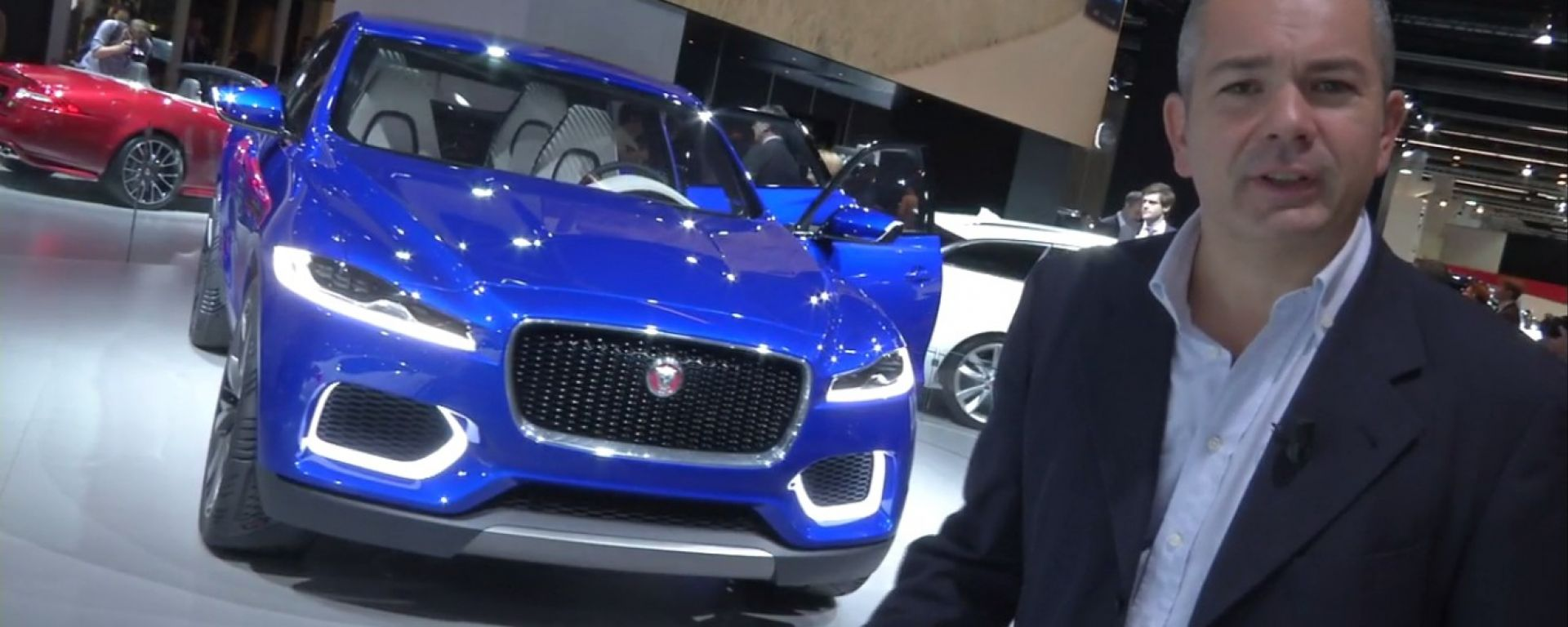 Francoforte 2013, lo stand Jaguar