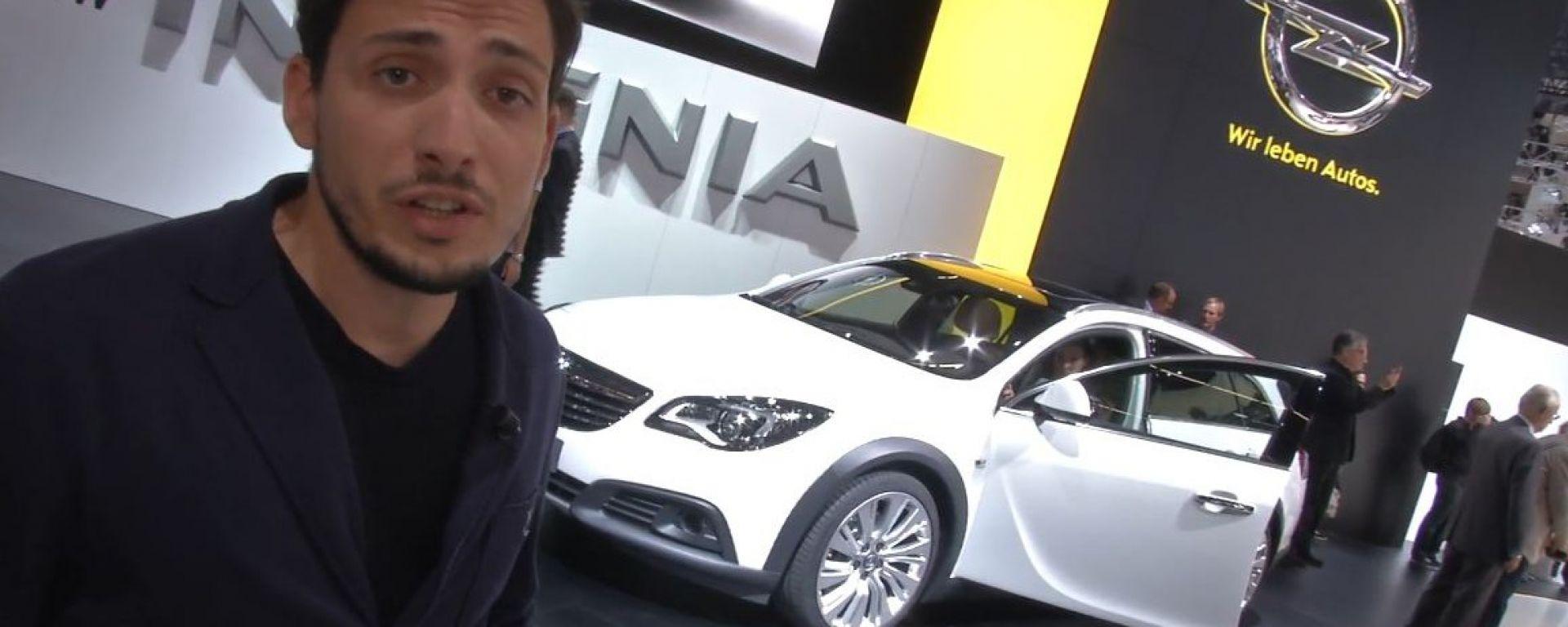 Francoforte 2013, lo stand Opel