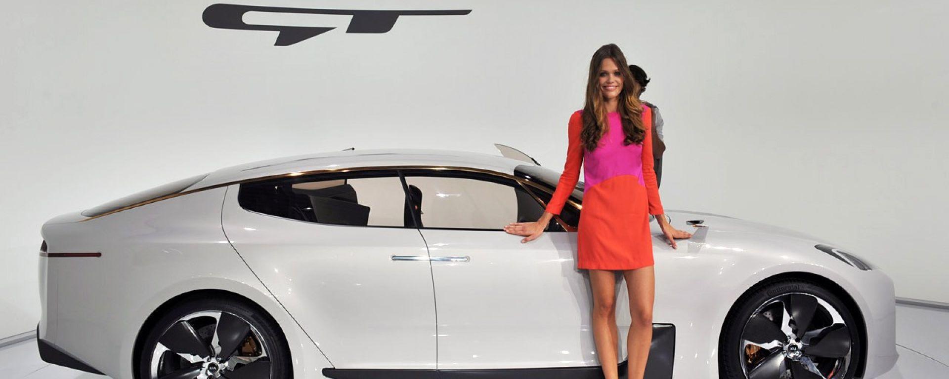 Francoforte IAA 2011: Kia GT concept e Kia Rio 2012