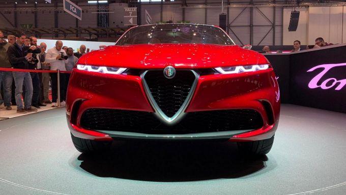 Frontale Alfa Romeo Tonale concept