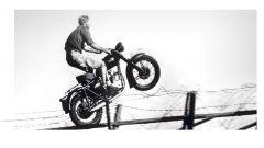 Coronavirus: motociclisti scappano ai posti di blocco di Pasqua