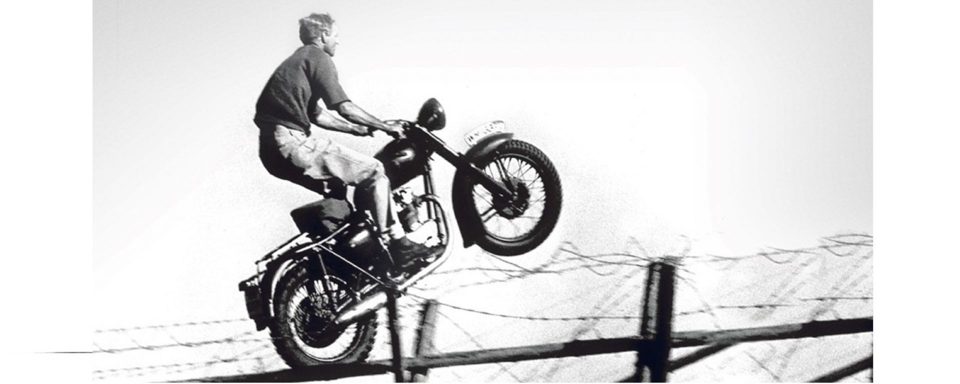 Fuga in moto a Pasqua... emuli di McQueen?